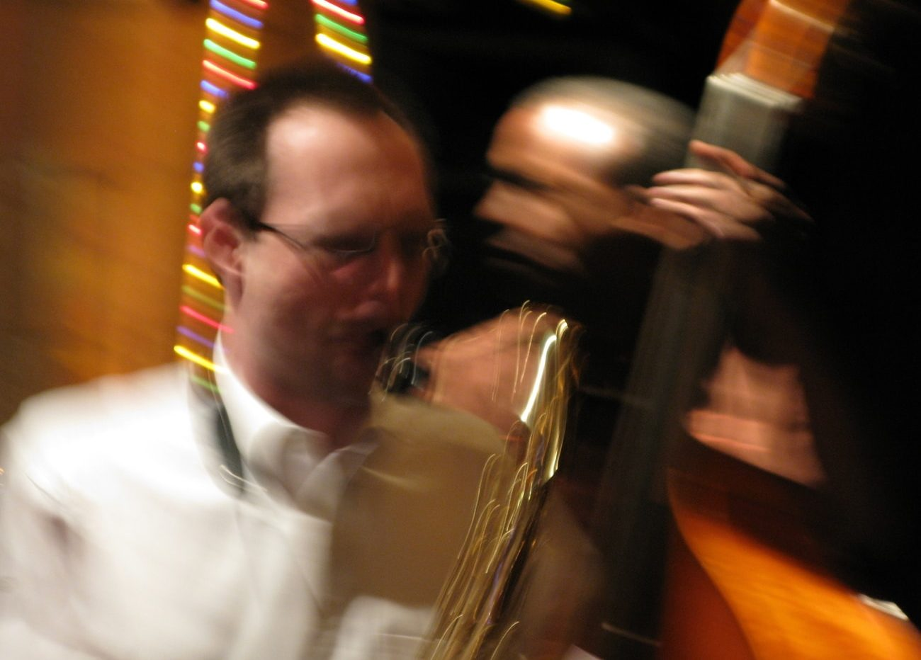 Sax et contrebasse
