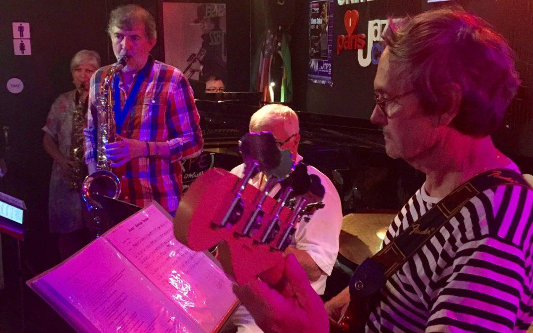 Le 22 juin : mini concert et jam session des ateliers jazz (premier cycle) de Marc Boutillot